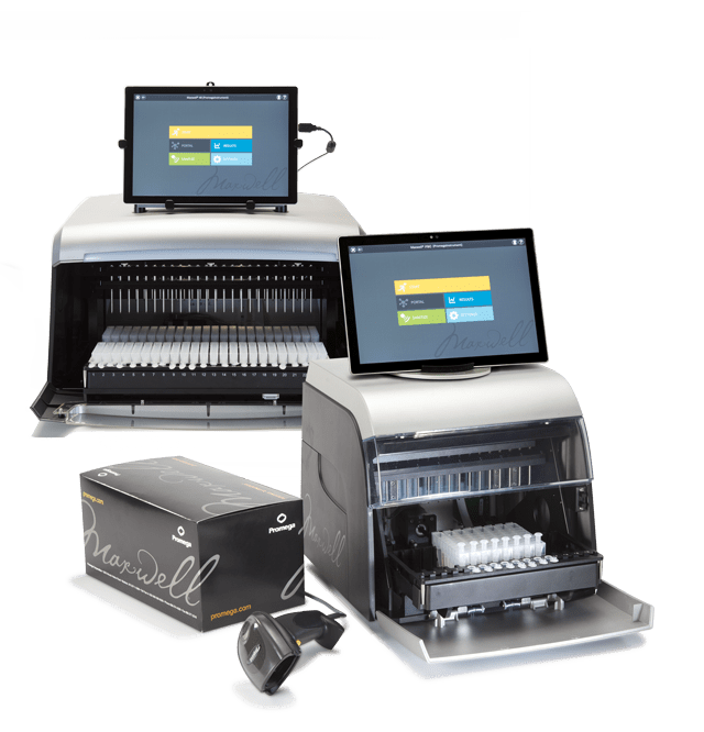 Maxwell Instruments and Kits for automated purification of viral nucleic acids