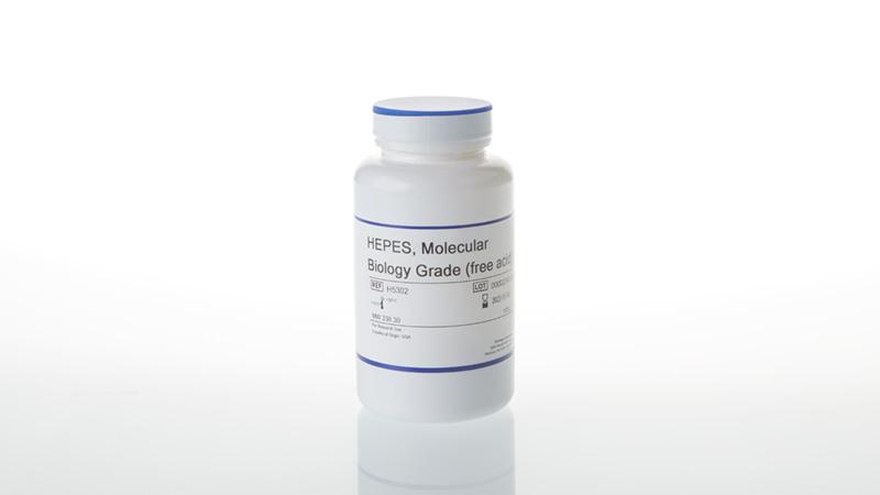 HEPES Molecular Biology Grade free acid 100g