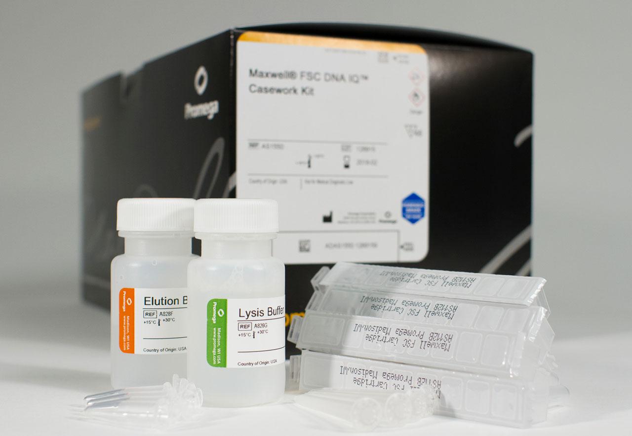 Maxwell FSC DNA IQ Casework Kit