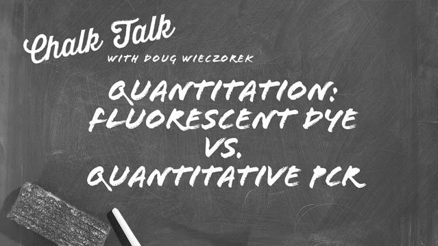 DNA Purification Fluorescent Dyes vs qPCR