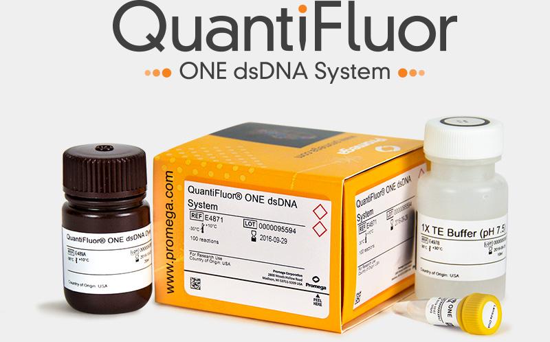 QuantiFluor Nanodrop Spectrophotometer DNA Extraction