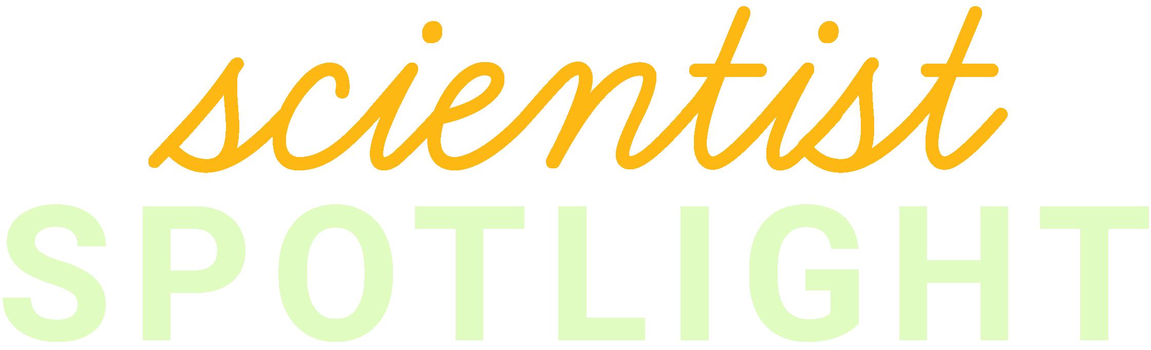 Scientist Spotlight Logo