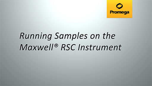 Running Samples on the Maxwell RSC Instrument