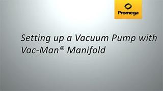 Setting up a Vacuum Manifold Video