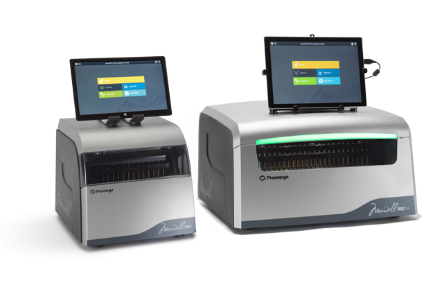 Maxwell Instruments for automated DNA purification
