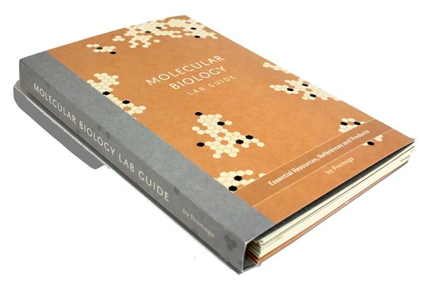 "Book entitled ""Molecular Biology Lab Guide"""