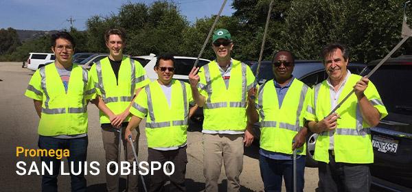 PBI's Community Action Team volunteering