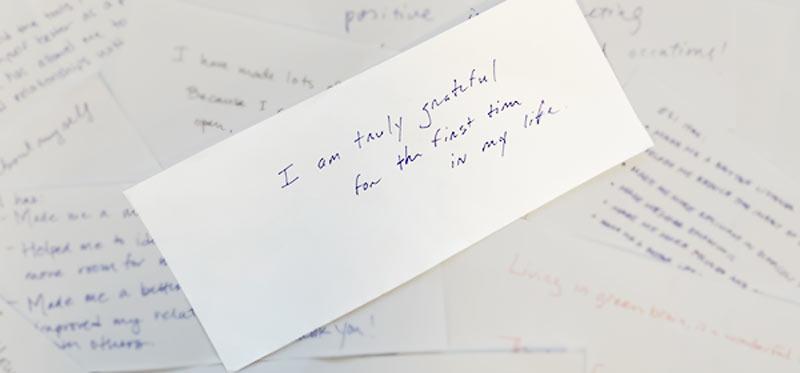 ESI Notes of Gratitude